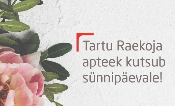 Raekoja apteegi sünnipäevanädal 19.-25.08.2019