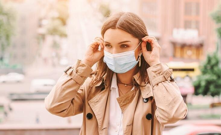 Naha kaitsmine maski kandmise ajal