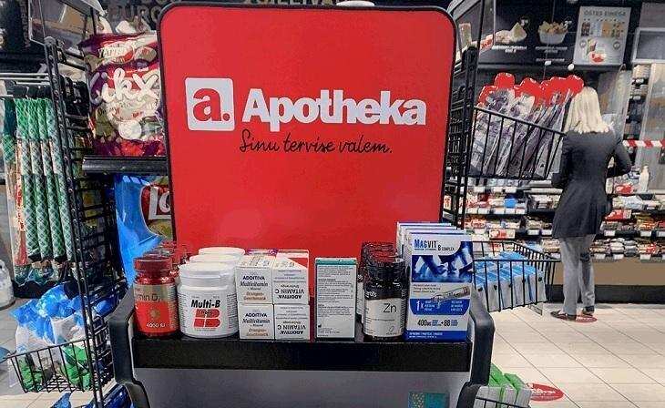 Apotheka tervisetooted on esindatud ka Circle K teenindusjaamades
