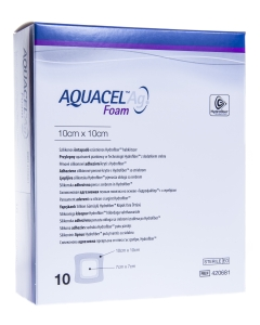 AQUACEL AG FOAM KLEEP HAAVASIDE 10CMX10CM N10