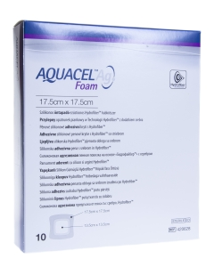AQUACEL AG FOAM KLEEP HAAVASIDE 17,5CMX17,5CM N10