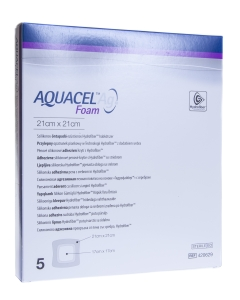 AQUACEL AG FOAM KLEEP HAAVASIDE 21CMX21CM N5