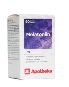 A. MELATONIIN KAPSLID 1MG N90
