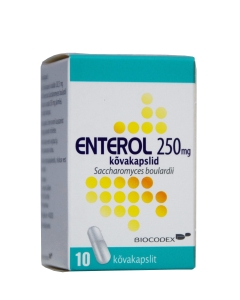 ENTEROL CAPS 250MG N10