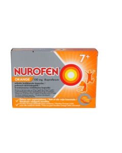 NUROFEN ORANGE PEHME NÄRIMISKAPSEL 100MG N12