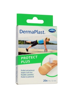 DERMAPLAST PLAASTRID PROTECT PLUS 19X72MM N20