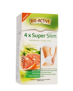 BIG-ACTIVE 4X SUPER SLIM TEE N20