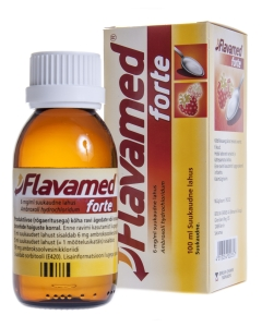 FLAVAMED FORTE SUUKAUDNE LAHUS 6MG/ML 100ML