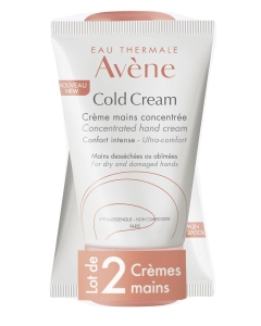 AVENE COLD CREAM CONCENTRATED KÄTEKREEM 50ML N1+1