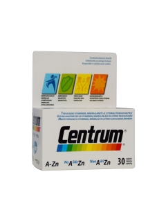 CENTRUM A-ZN TBL N30