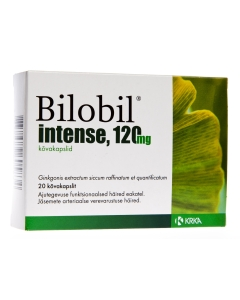 BILOBIL INTENSE CAPS  120MG N20