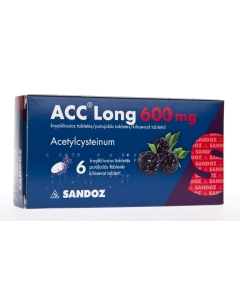 ACC LONG KIHISEV TBL 600MG N6