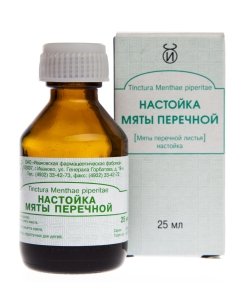 PIPARMÜNDITINKTUUR (MENTHAE PIPERITAE TINCT.) 25ML