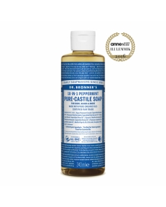 DR.BRONNERS VEDELSEEP PIPARMÜNT 240ML