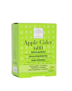 APPLE CIDER TBL 600MG N120