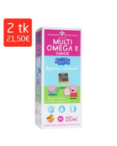 MULTI OMEGA-3 JUNIOR 250ML