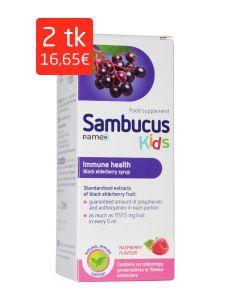 SAMBUCUS KIDS SIIRUP 120ML (UUENDATUD KOOSTIS)