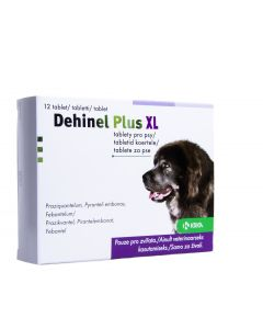 DEHINEL PLUS XL TABL 175MG+525MG+504MG N12
