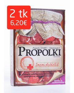 PROPOLKI TBL N16 (KIBUVITSA-JA VAARIKAEKSTR) (56G)
