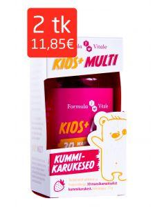 KIDS+ MULTI KUMMIKARUKESED N30 MAASIKAMAITSELINE