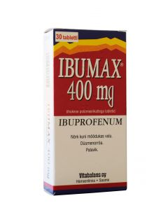 IBUMAX TBL 400MG N30