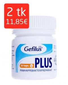 GEFILUS PLUS CAPS N20