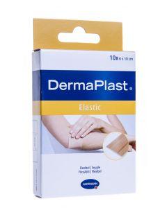 DERMAPLAST PLAASTRID TEXTILE ELASTIC 6X10CM N10/535241/535243/