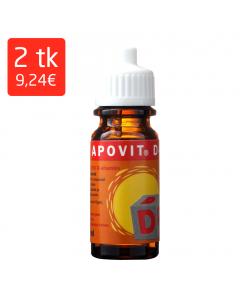 APOVIT D-VIT SUUKAUDSED TILGAD 10ML