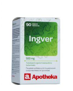 A. INGVER TBL 500MG N90