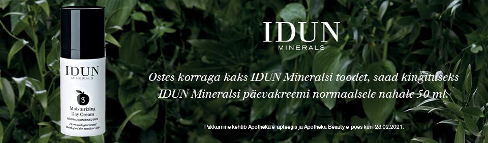 IDUN Minerals kingikampaania